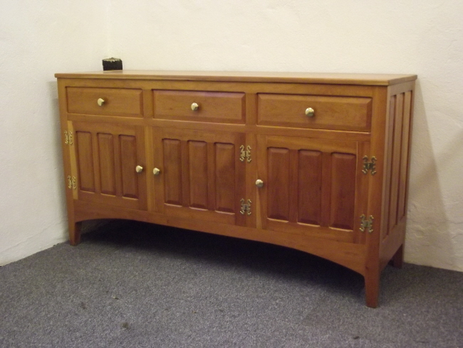 4'9 Cherry sideboard