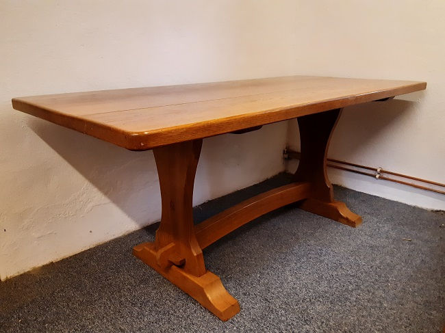 Traditional Oak dining table, 6', for sale on behalf of customer, offers.